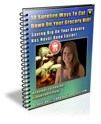Product picture 10 Surefire Ways To Cut Down On Your Grocery Bill