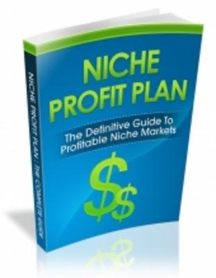 Product picture Niche Profit Plan